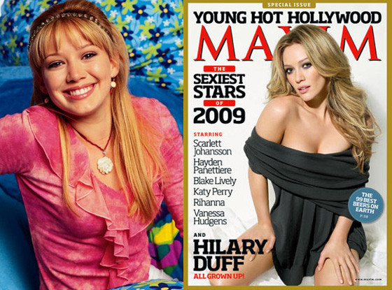 Hilary Duff, Lizzie McGuire, Maxim