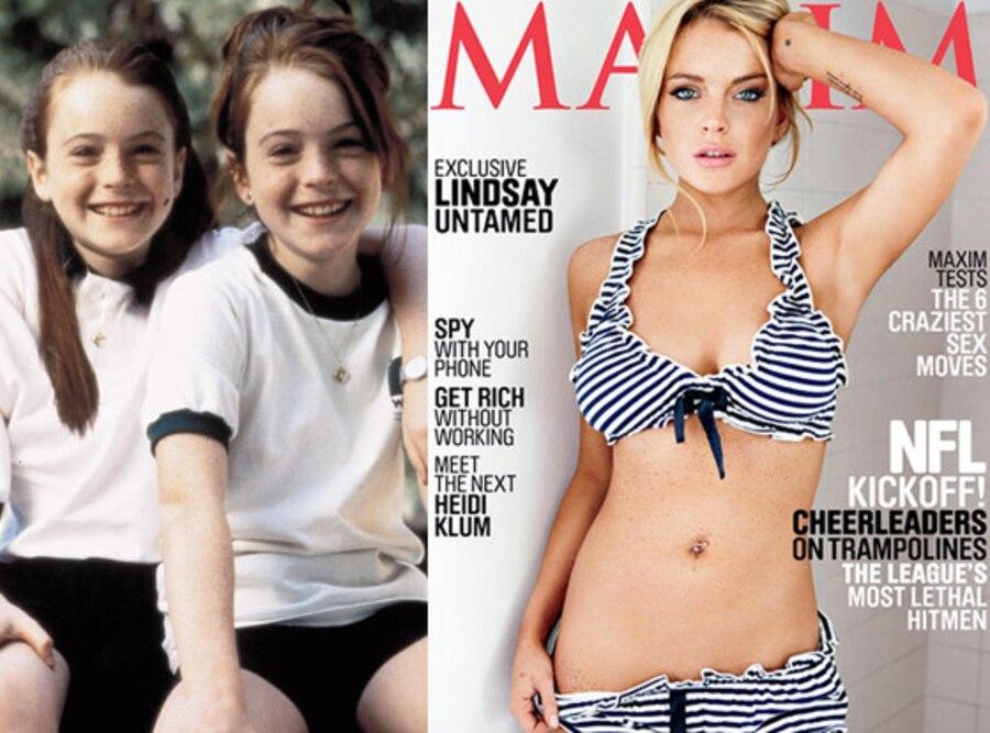 Lindsay Lohan, The Parent Trap, Maxim