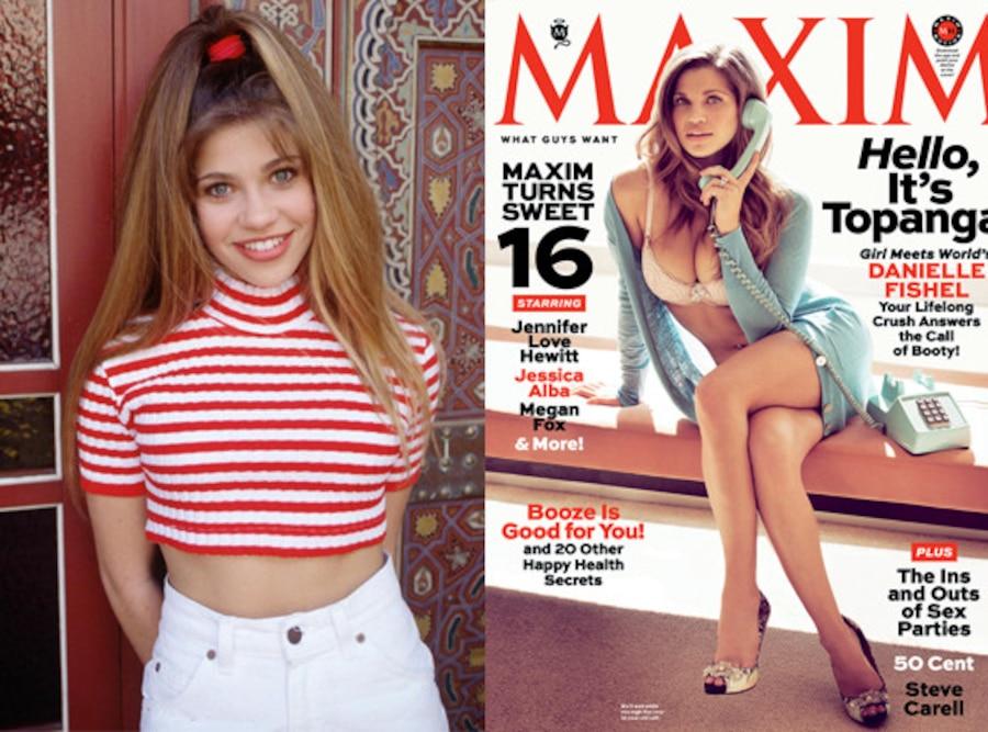Danielle Fishel, Boy Meets World, Maxim