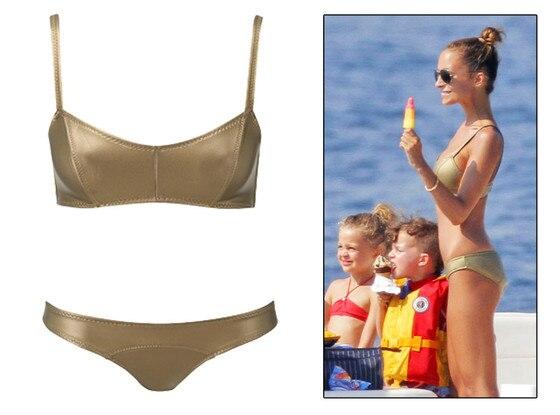 Nicole Richie, Lisa Maria Fernandez Gold Bikini