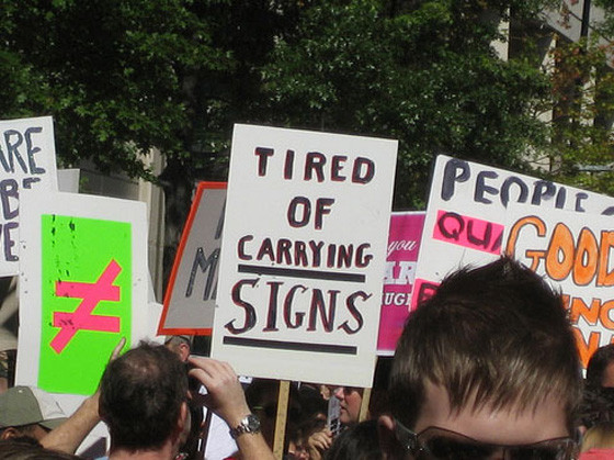 Protest Sign 1