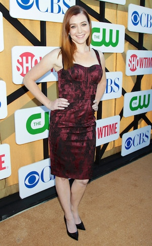 Alyson Hannigan, CBS TCA