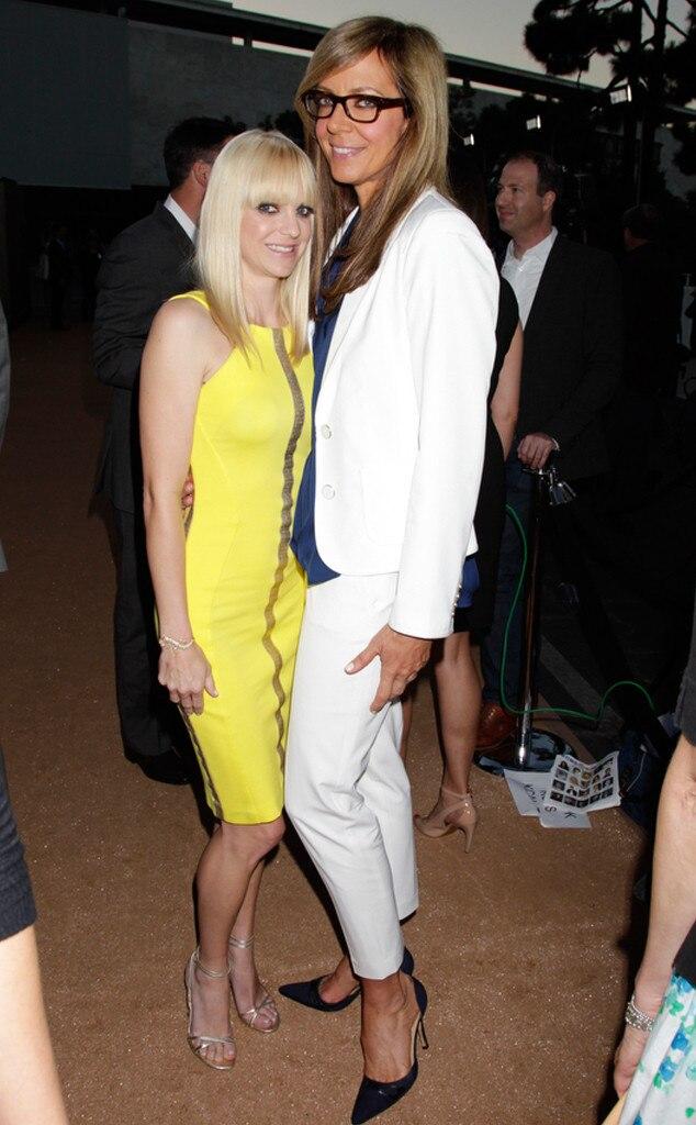 Anna Faris, Allison Janney, CBS TCA