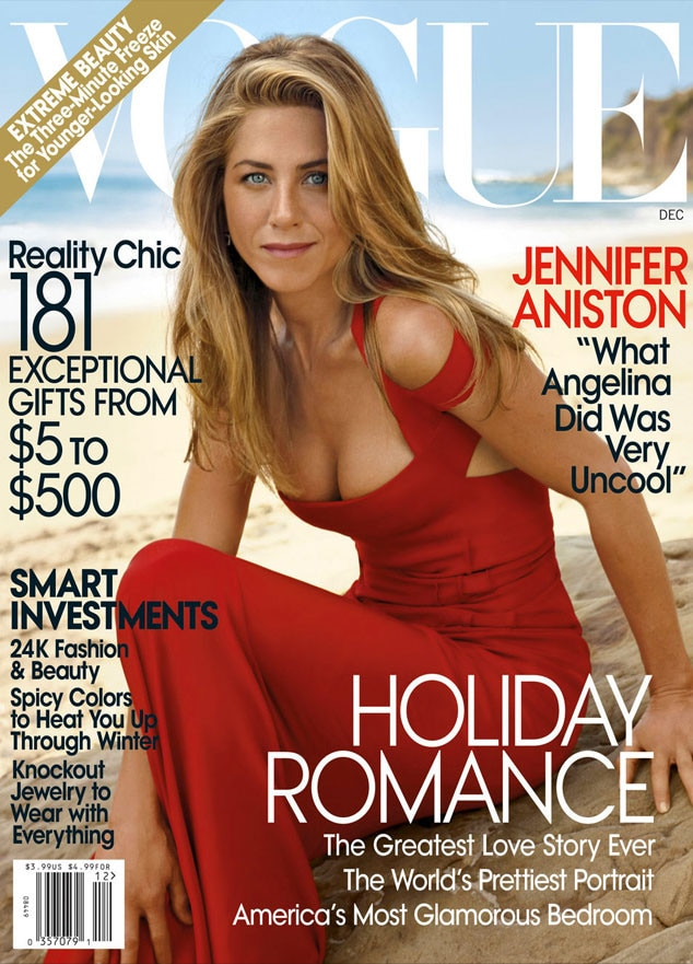 Jennifer Aniston, Vogue Cover