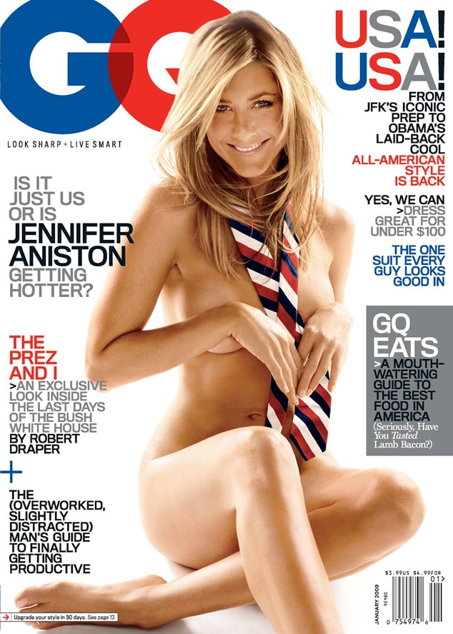 Jennifer Aniston, GQ Cover