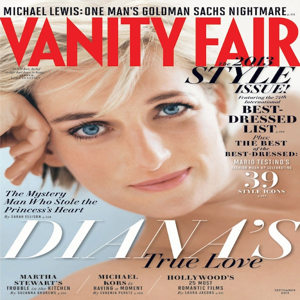 Princess Diana, Vanity Fair from 2013 September Issues | E ...