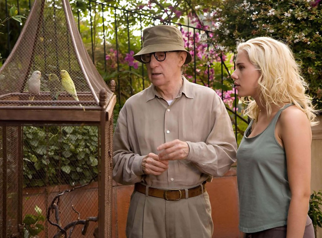 Scarlett Johansson, Woody Allen, Celebrity Collaborations