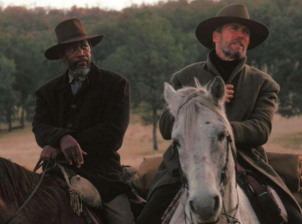 Morgan Freeman, Clint Eastwood, Unforgiven, Celebrity Collaborations
