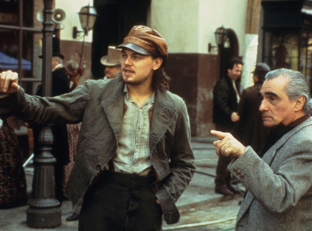 Celebrity Collaborations, Martin Scorsese, Leonardo DiCaprio, Gangs of New York