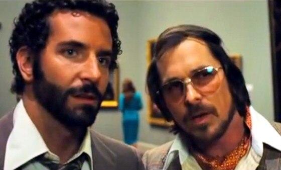 American Hustle, Bradley Cooper, Christian Bale