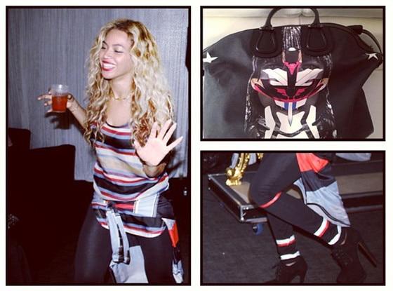 Beyonce, Instagram