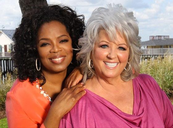 Oprah Winfrey, Paula Deen