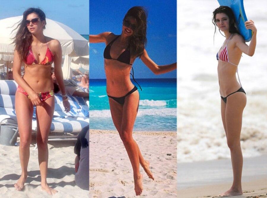 Nina Dobrev, Miranda Kerr, Kendall Jenner