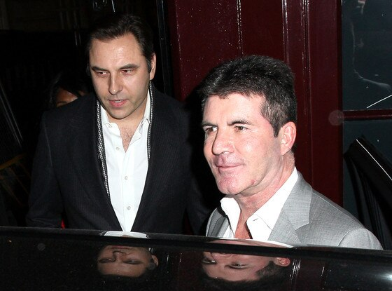 David Walliams, Simon Cowell