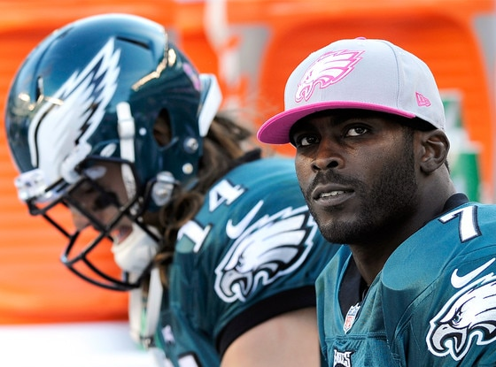 Michael Vick, Riley Cooper