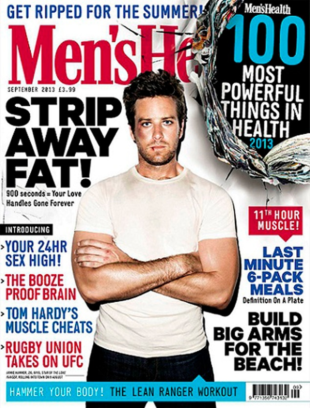Armie Hammer, Men's Health UK