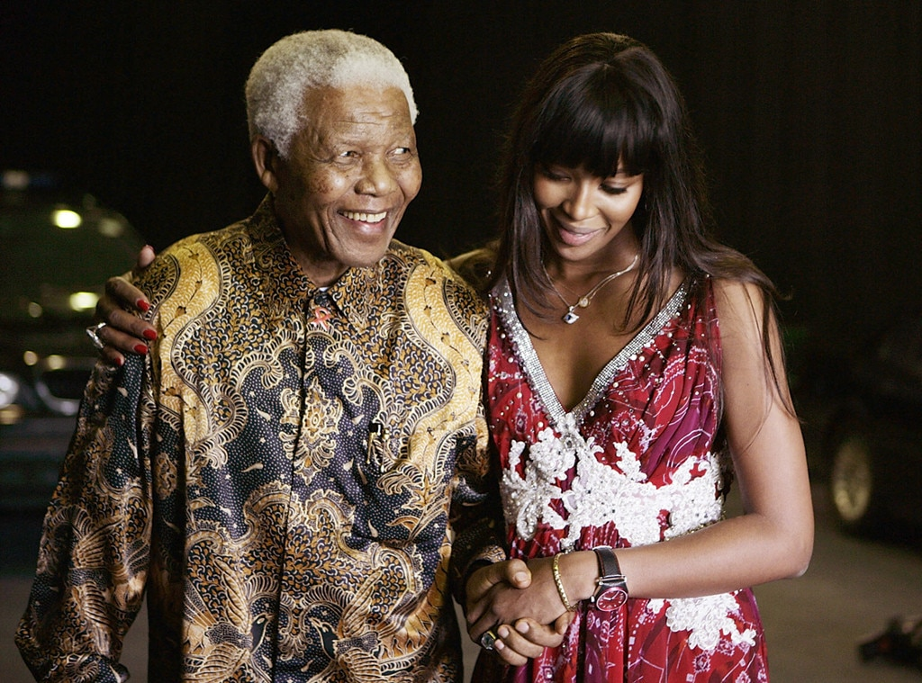 Nelson Mandela, Naomi Campbell