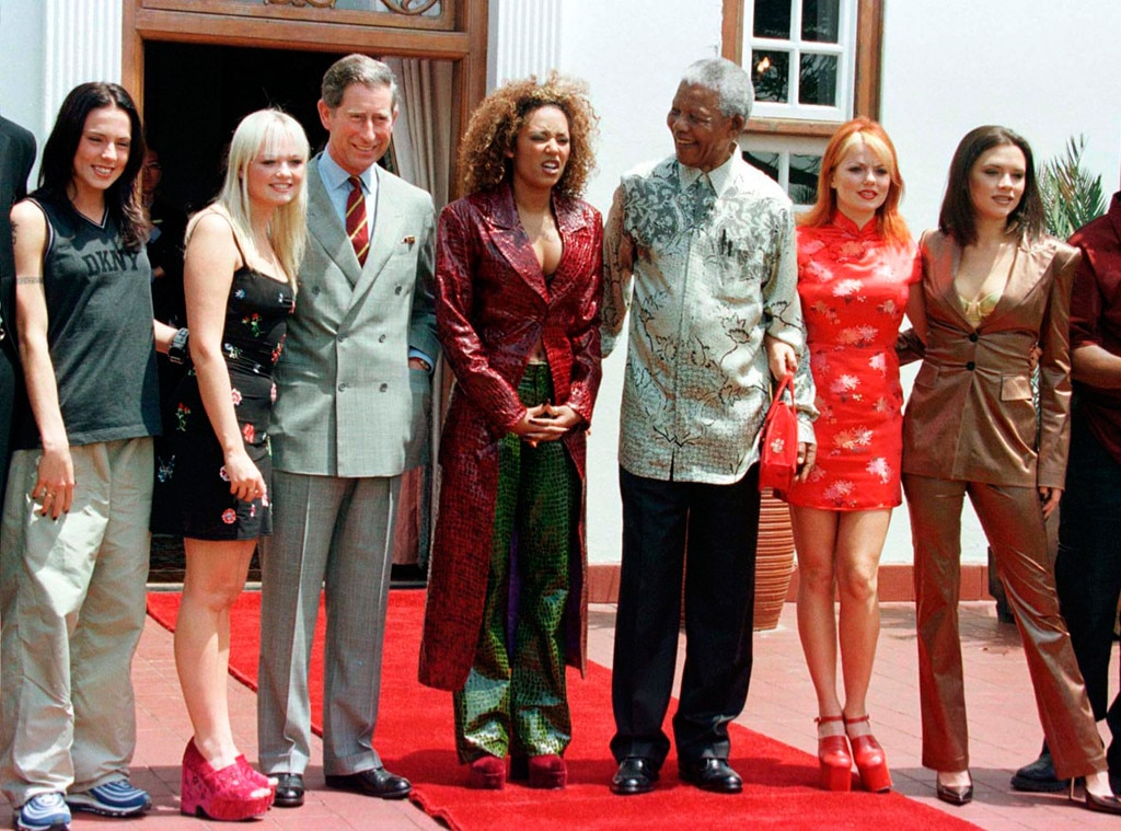 Nelson Mandela, Spice Girls, Prince Charles