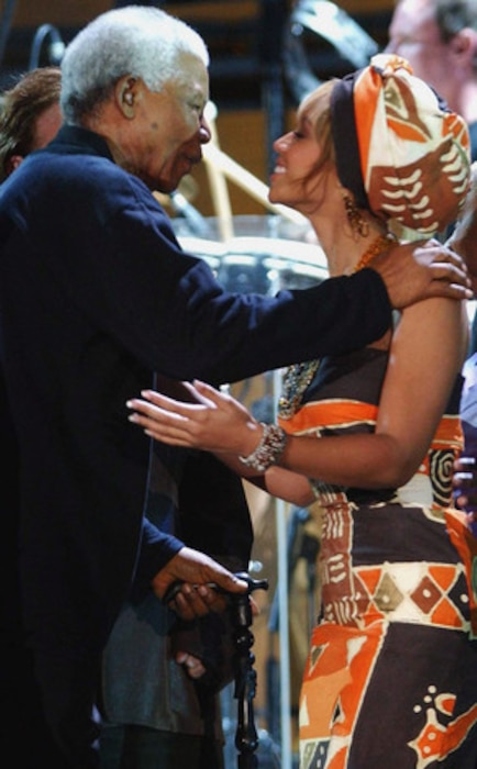 Nelson Mandela, Beyonce