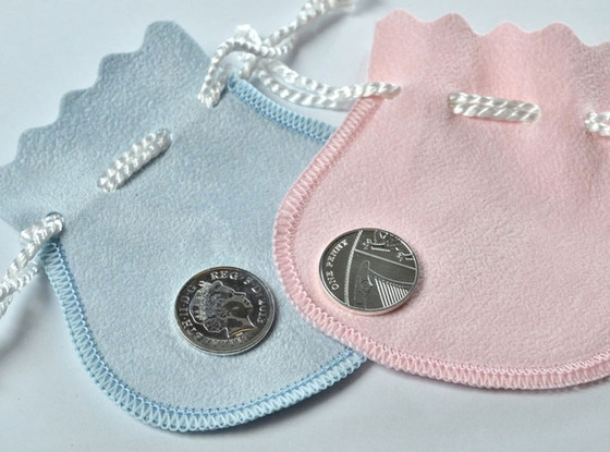 Silver Penny, Royal Mint, Prince William, Duchess Catherine, Kate Middleton