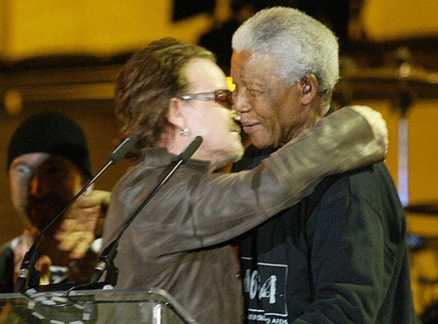 Bono, Nelson Mandela