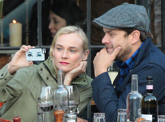 Diane Kruger, Joshua Jackson, Cell Phone Cases
