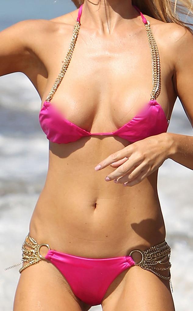 Double Trouble Guess Celeb Bikini Wardrobe