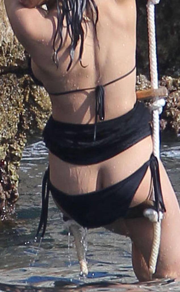 Michelle Rodriguez, Bikini Malfunction