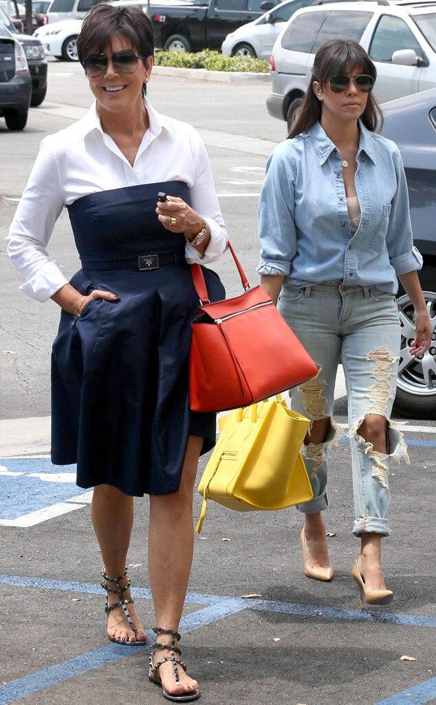Kris Jenner, Kourtney Kardashian