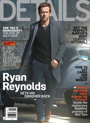 Ryan Reynolds, Details Magazine Cover