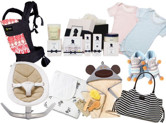 Baby Shower Gifts Collage