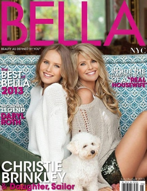 Bella NYC Magazine, Christie Brinkley, Sailor