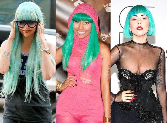 Amanda Bynes, Nicki Minaj, Lady Gaga