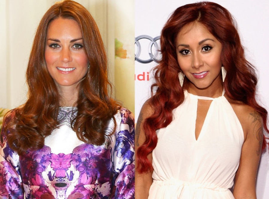 Kate Middleton, Duchess Catherine, Nicole Snooki Polizzi