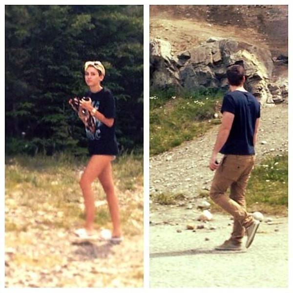 Miley Cyrus, Liam Hemsworth, Twitter