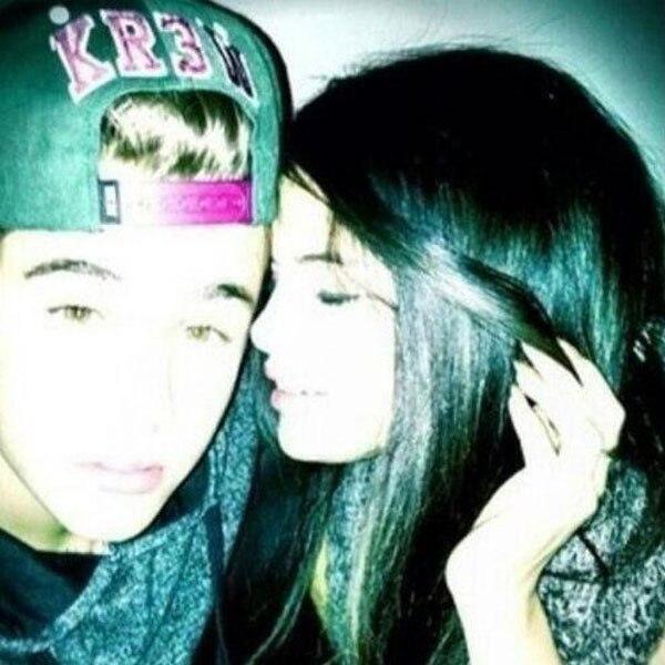 Justin Bieber, Selena Gomez, Twit Pic