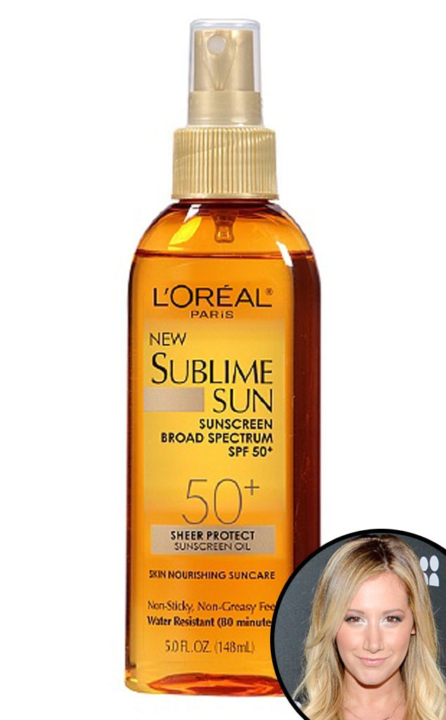 Loreal Sublime Sun, Ashley Tisdale