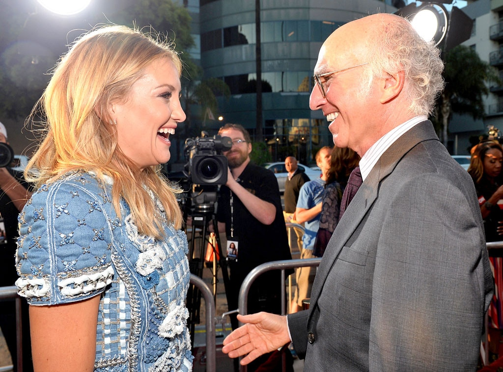 Kate Hudson, Larry David
