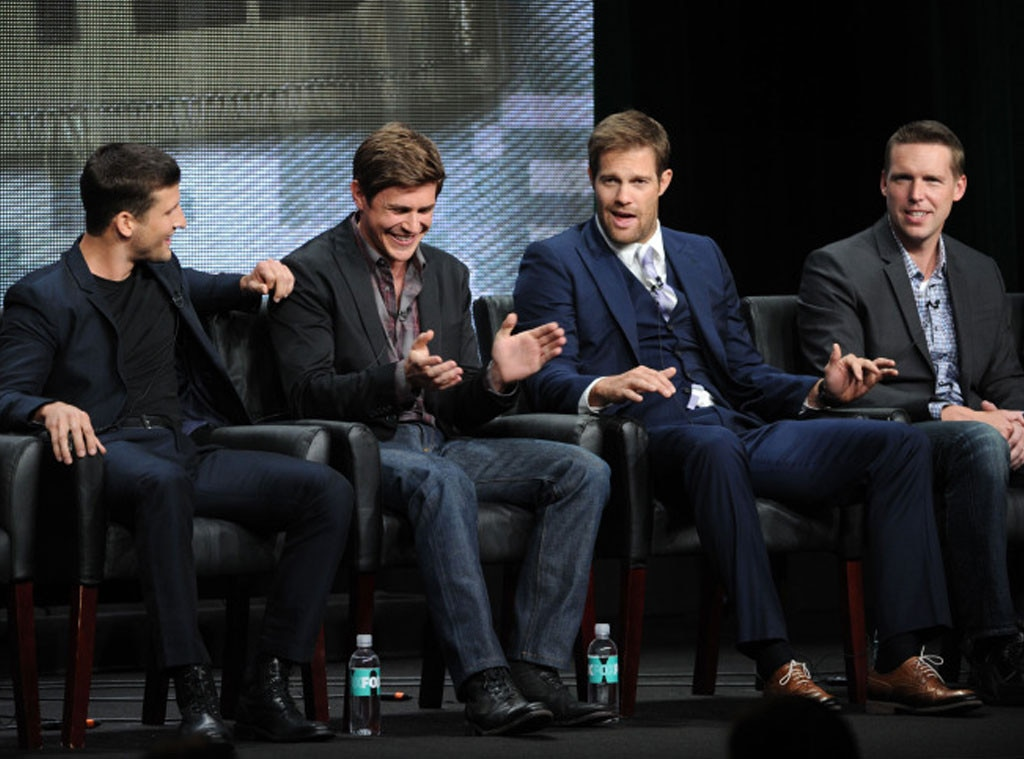 Parker Young, Chris Lowell, Geoff Stults, Kevin Biegel, TCA