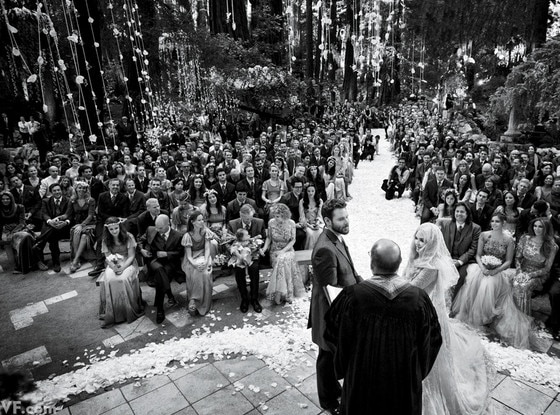 Sean Parker, Alexandra Lenas, Wedding, Vanity Fair