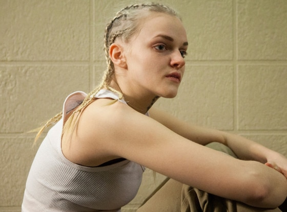 White girl with cornrows orange is the new black