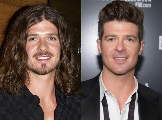 Robin Thicke, Long Hair, Short Hair