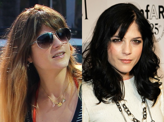Selma Blair, Hair
