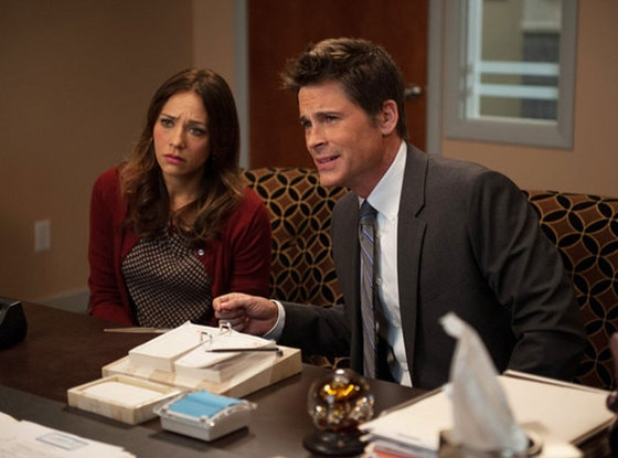 Rashida Jones, Rob Lowe, Parks and Recreation