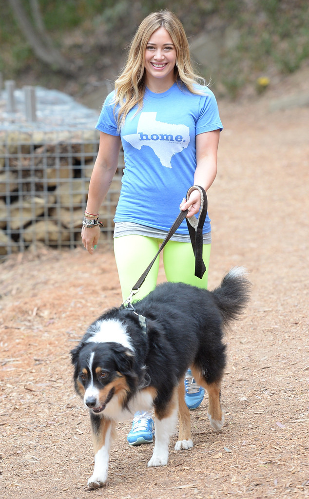 Hilary Duff, Dog