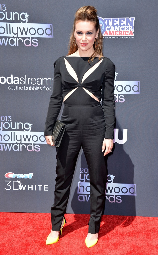 Young Hollywood Awards, Alyssa Milano