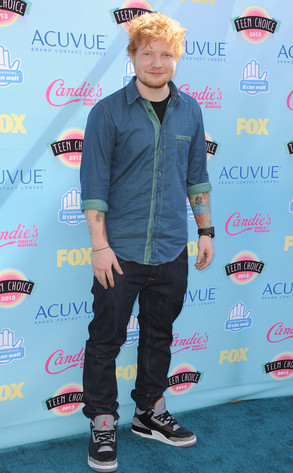 Ed Sheeran, Teen Choice Awards