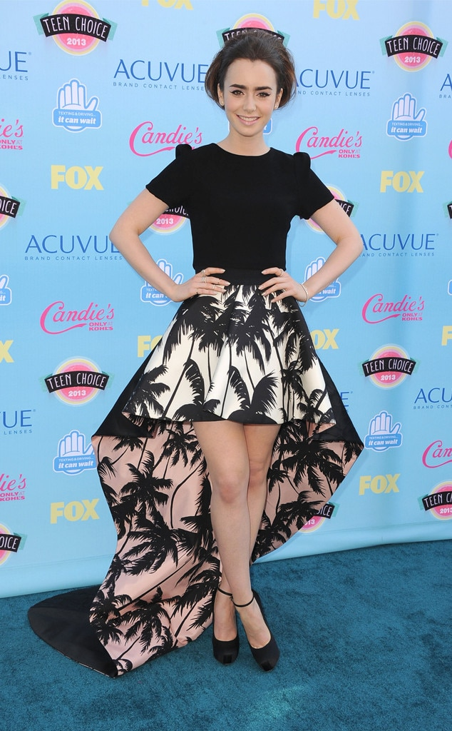 Lily Collins, Teen Choice Awards