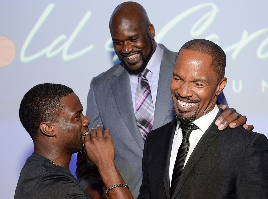 Shaq and kevin hart face switch celebrity