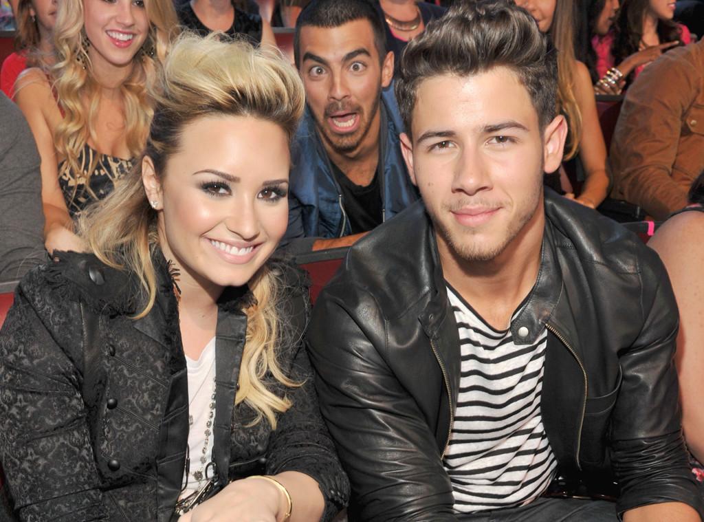 Demi Lovato Joe Jonas Nick Jonas